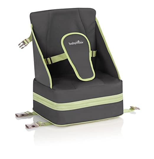3 opinioni per BabyMoov Up & Go Booster Seat- baby/kids chairs & seats (Black, Green, Neoprene,