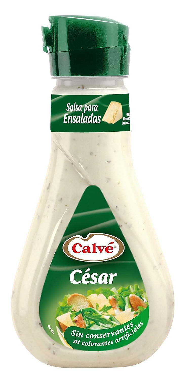 Calve - Salsa para ensalada César - 235 ml: Amazon.es: Alimentación y bebidas