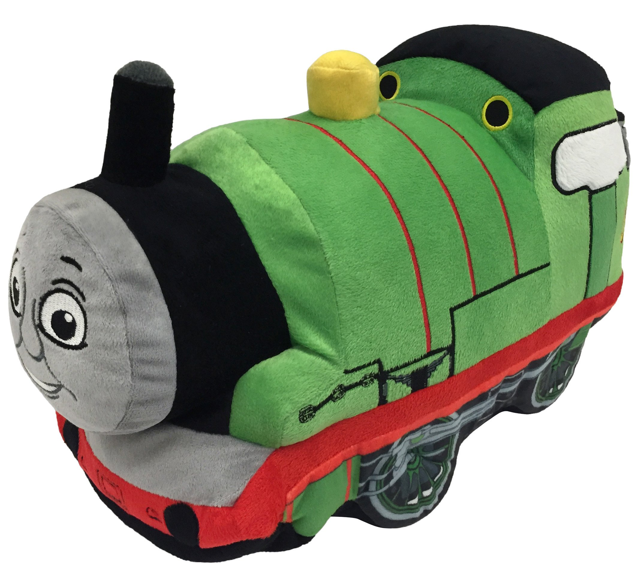 Mattel Thomas and Friends Plush Stuffed Percy Pillow Buddy - Kids Super Soft Polyester Microfiber, 15 inch (Official Mattel Product) by Thomas & Friends