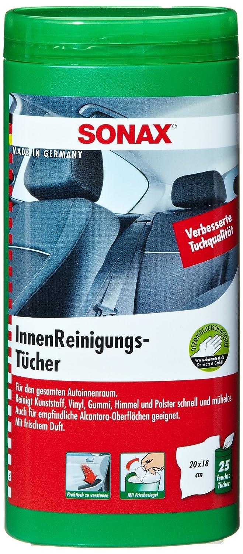 SONAX 04122000 - Toallitas limpiadoras para interiores de coche