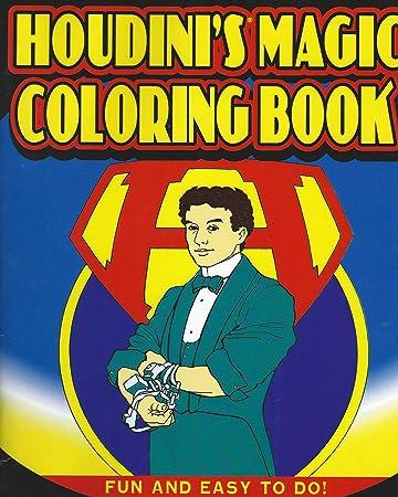 houdinis magic coloring book - A Fun Magic Coloring Book