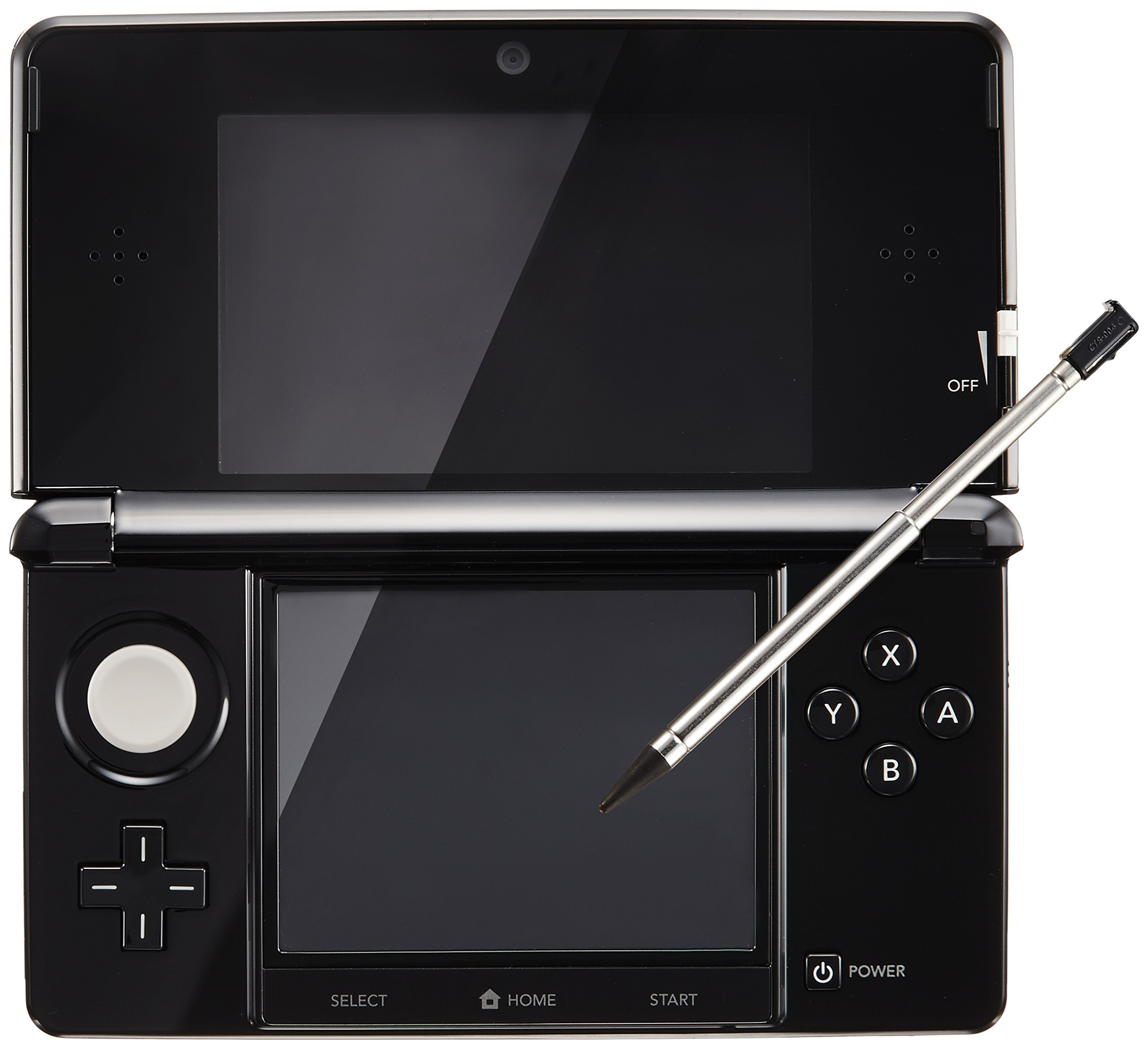 Nintendo 3DS clear black (Japanese Imported Version - only plays Japanese version games) by Nintendo (Image #1)