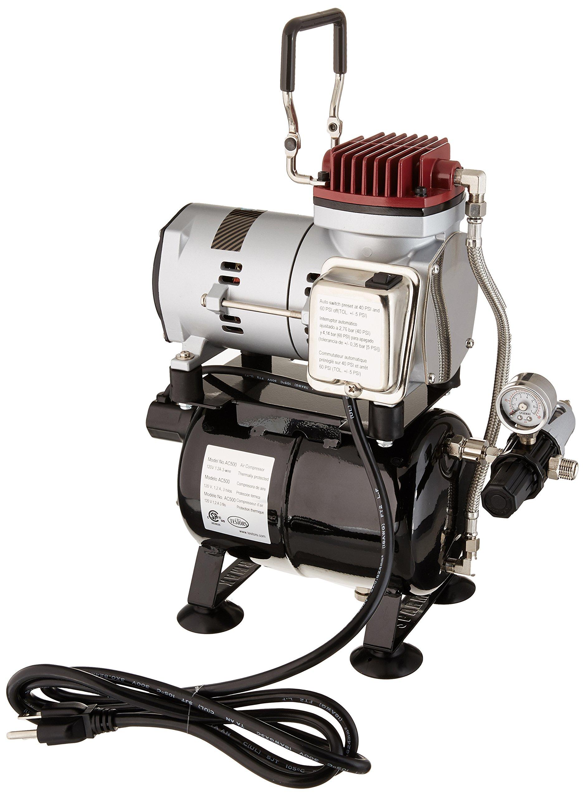 Testors All New AC500 Airbrush Compressor