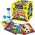 Green Board Games BrainBox My First Pictures - Juego de mesa con tarjetas ilustradas para aprender vocabulario