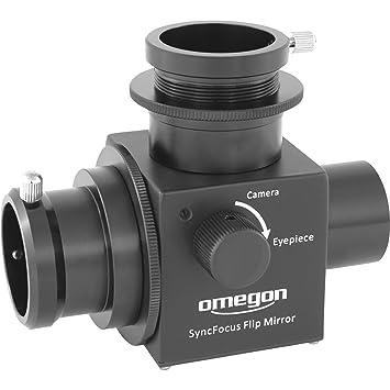 Omegon Espejo abatible Syncfocus (para cámaras planetarias): Amazon.es: Electrónica