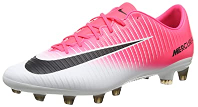 3bfecb265 Nike Men's Mercurial Veloce III AG PRO Football Boots, (Racer Pink/Black  White