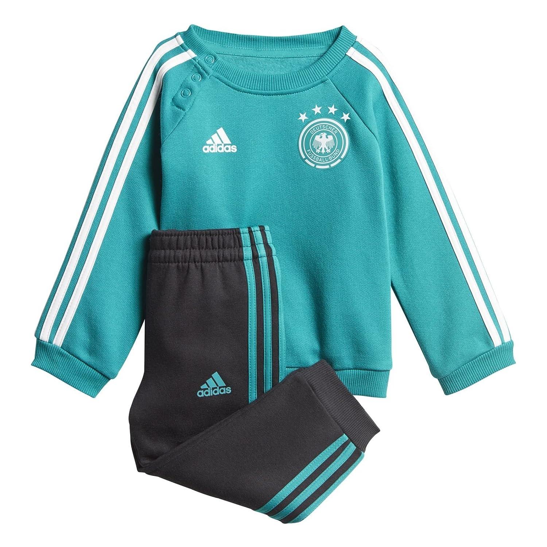adidas Unisex Baby DFB 3 Stripes Babyjogger Trainingsanzug CF2475