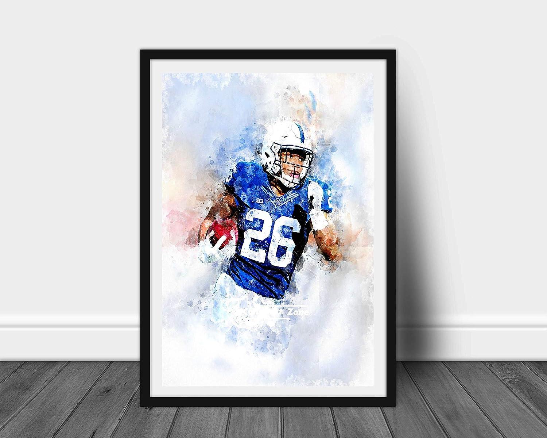 "NFL Poster 24/"" X 36/"" SAQUON BARKLEY NEW 2"