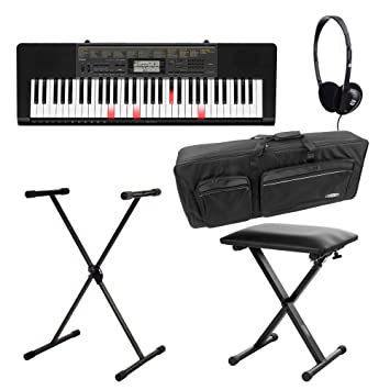 Casio LK 265ca Bombilla teclas Deluxe Set de teclado (61 teclas, 32 de compartimento