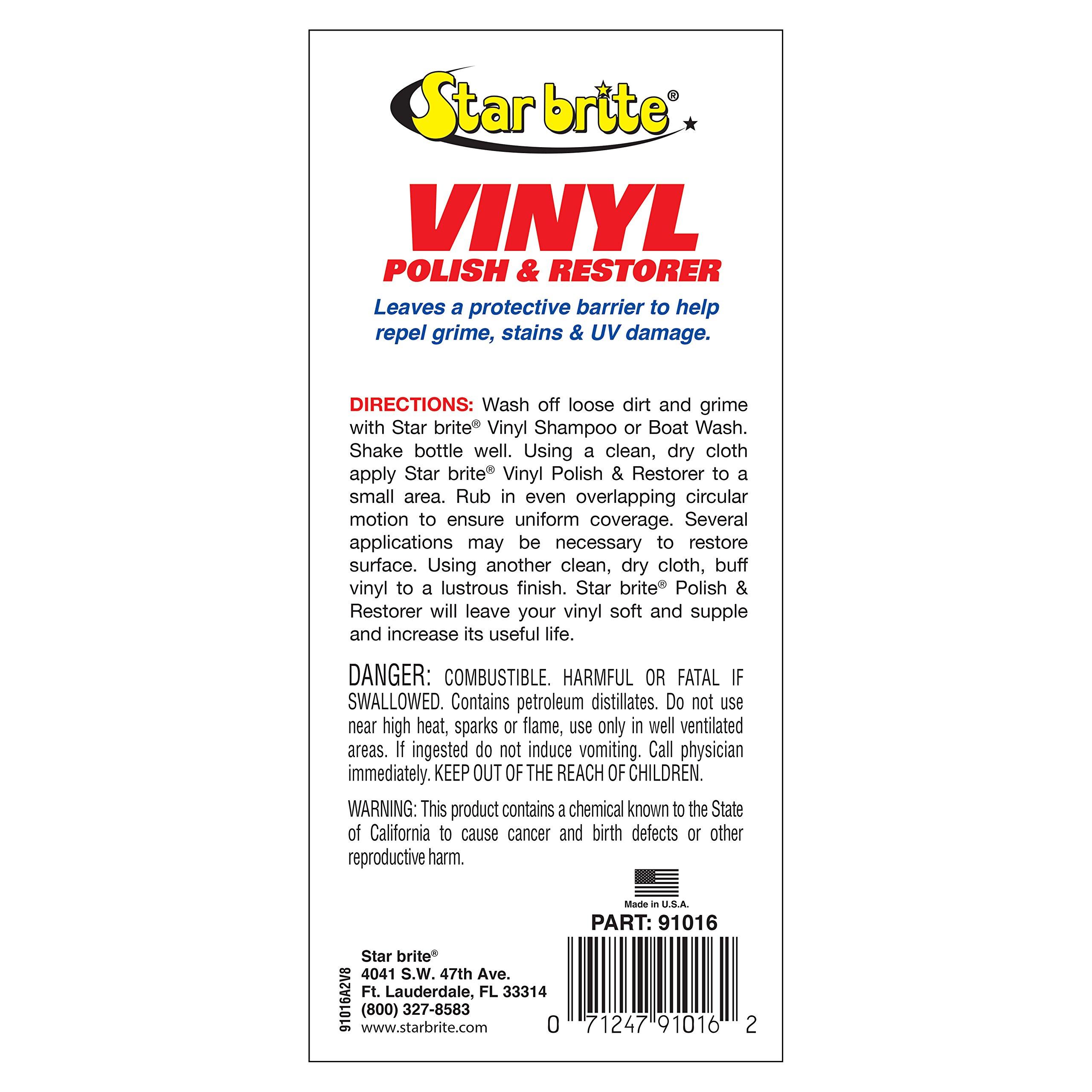 Star Brite Vinyl Cleaner, Polish & Protectant by Star Brite (Image #2)