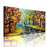 Fasdi-ART Oil Painting Landscape Forest 3D