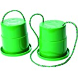 Just Jump It Set of 2 EZ Steppers Agility Toy - Can Stepper Toys