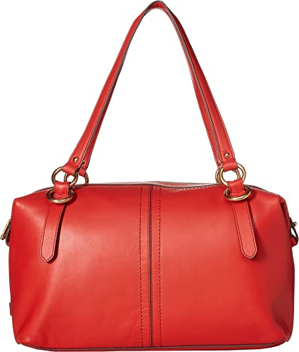 4e21177863 Amazon.com: Cole Haan Women's Julianne Satchel Aura Orange One Size: Shoes