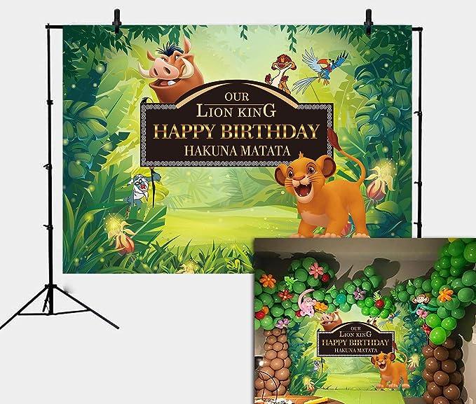 Daniu König Der Löwen Simba Thema Hintergrund Dschungel Kamera