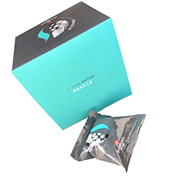 10 Packs Nespresso Compatible Capsules. Roasted Italian Premium Espresso, Manuel Caffe. Intense Aroma