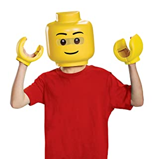 Disguise Lego Iconic & Hands Child Costume Kit, One Size Child