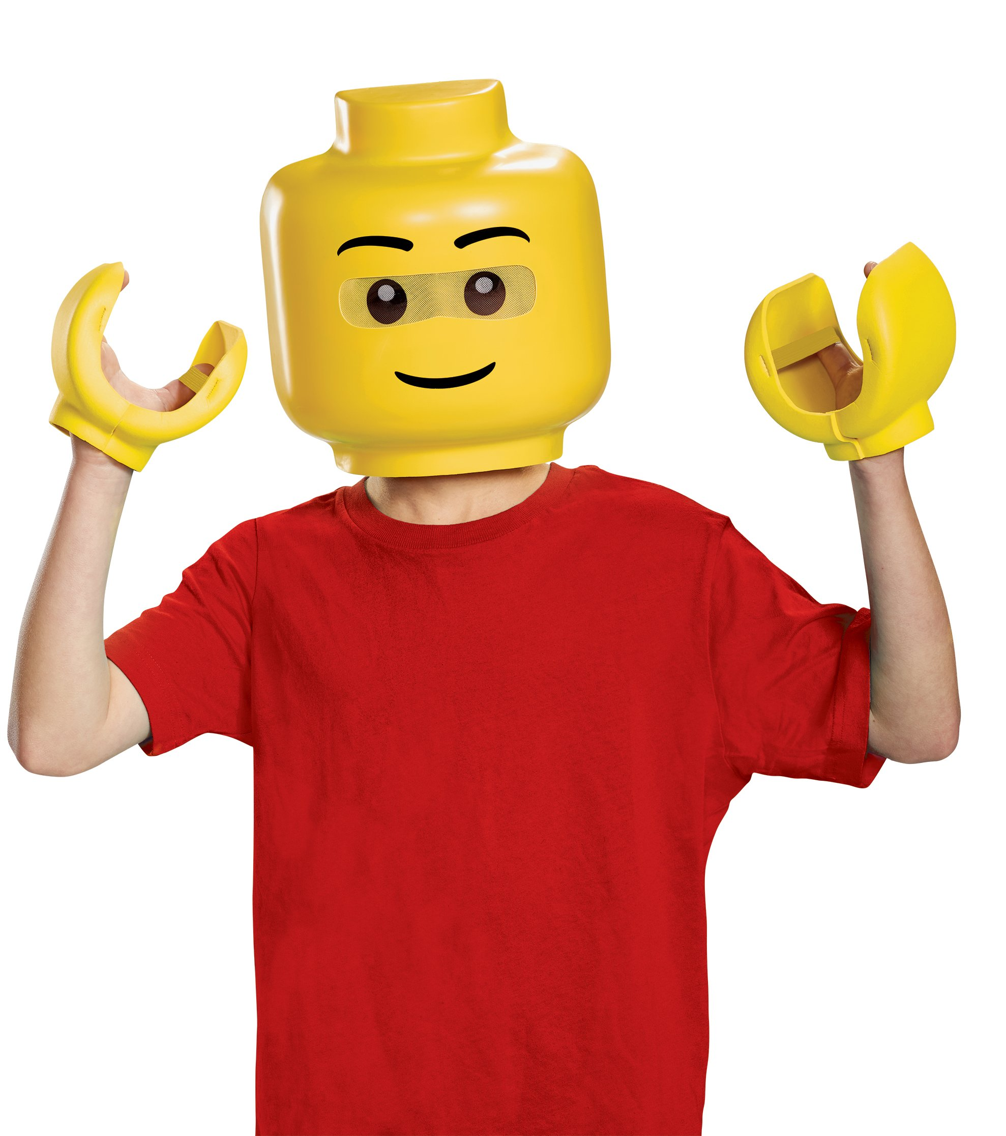 Disguise Lego Iconic & Hands Costume Kit, One Size Child