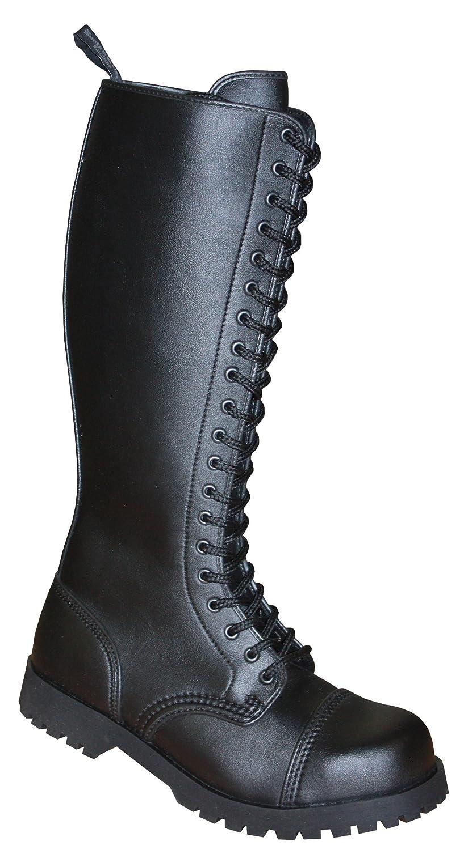 Stiefel & Braces 20-Loch Vegetarian (Vegi) schwarz, Unsisex Erwachsenen Stiefel, Stiefel, Stiefel, 601505 ae2791