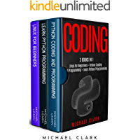 """Coding: 3 books in 1 : """"Learn Python coding and programming book 1 & 2 + Linux for Beginners"""""""