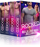 Rocked Parts 1-4 Box Set: A New Adult Rockstar Romance (Billionaire's Obsession Book 2)