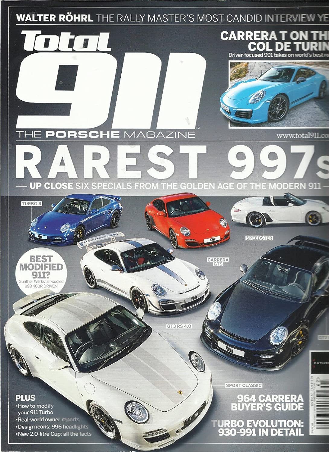 TOTAL 911 THE PORSCHE MAGAZINE, FEBRUARY, 2018 ISSUE # 162 PRINTED IN UK s3457