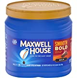 Maxwell House Smooth Bold Roast Ground Coffee (26.7 oz Canister)