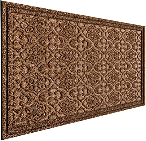 Amazon Com Mat 7 Banquet Outdoor Door Mat For Front Door 36 X 24 Inch Welcome Mat Debris Mud Trapper Outside Rubber Floor Mat Rug Large Extra Thick Textured Outdoor Mat For Entryway