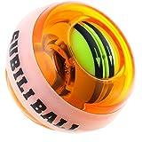 スナップボール LED発光 フィットネス 自動回転モデル オートスタート機能 手首 筋トレ 握力 腕力 トレーニング