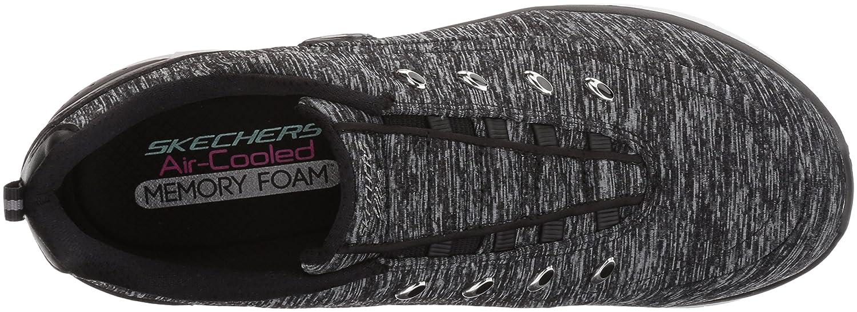 Skechers Sneaker Women's Synergy 2.0-Scouted Wide Fashion Sneaker Skechers B01N2AGBPZ 8.5 W US|Black/White 4e8bba