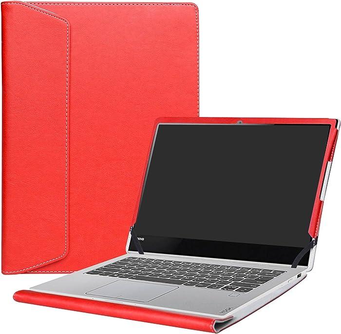 "Alapmk Protective Case Cover for 13.9"" Lenovo Yoga 920 920-13ikb / Yoga 910 910-13ikb Laptop(Not fit Yoga 930/Yoga 900),Red"