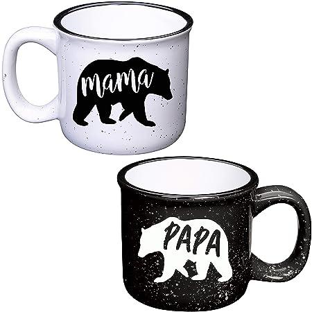 Mama Bear Mug & Papa Bear Mug