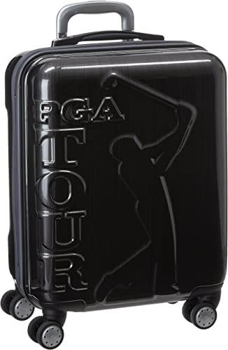 PGA Tour Hard Case Spinner Luggage, 20 Inch Carry-On