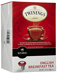 Twinings Tea English Breakfast Tea K-Cups, 12 ct