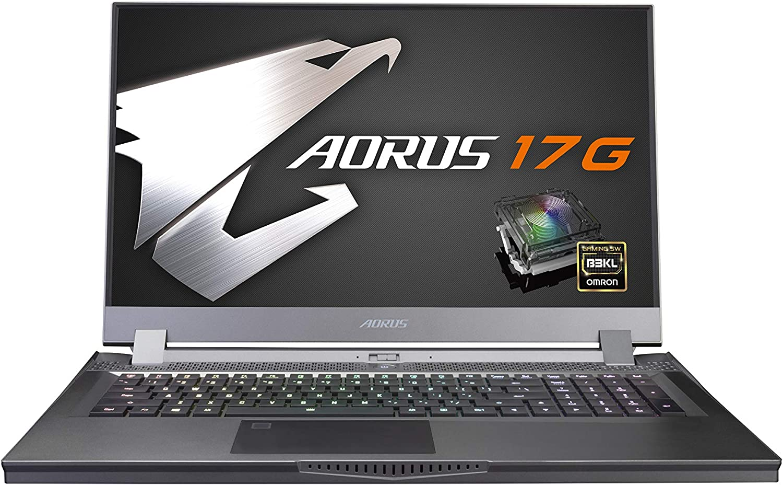 [2020] AORUS 17G (XB) Performance Gaming Laptop, 17.3-inch 144Hz IPS, GeForce RTX 2070 Super Max-Q, 10th Gen Intel i7-10750H, 16GB DDR4, 512GB NVMe SSD