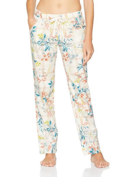 Triumph Mix & Match AW 18 Trousers Check Printed, Pantalones de Pijama para Mujer,