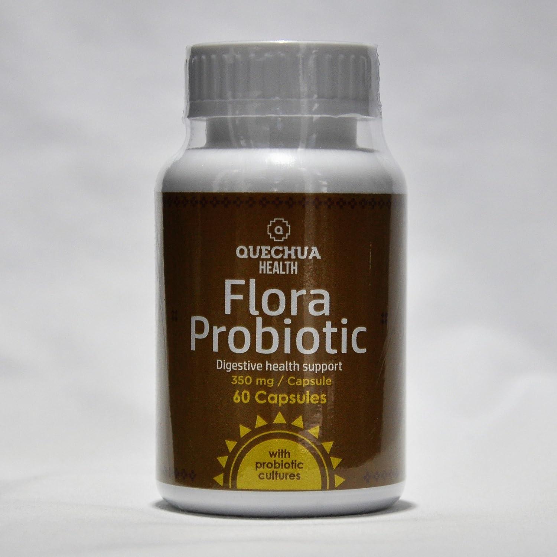 Amazon.com: Quechua Health Flora Probiotic, Digestive Health Support ...