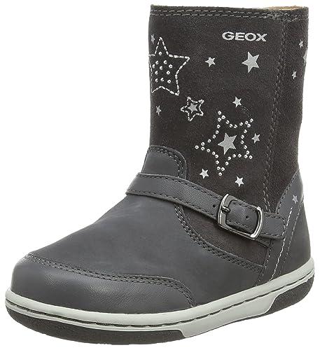 Botas de piel geox color gris