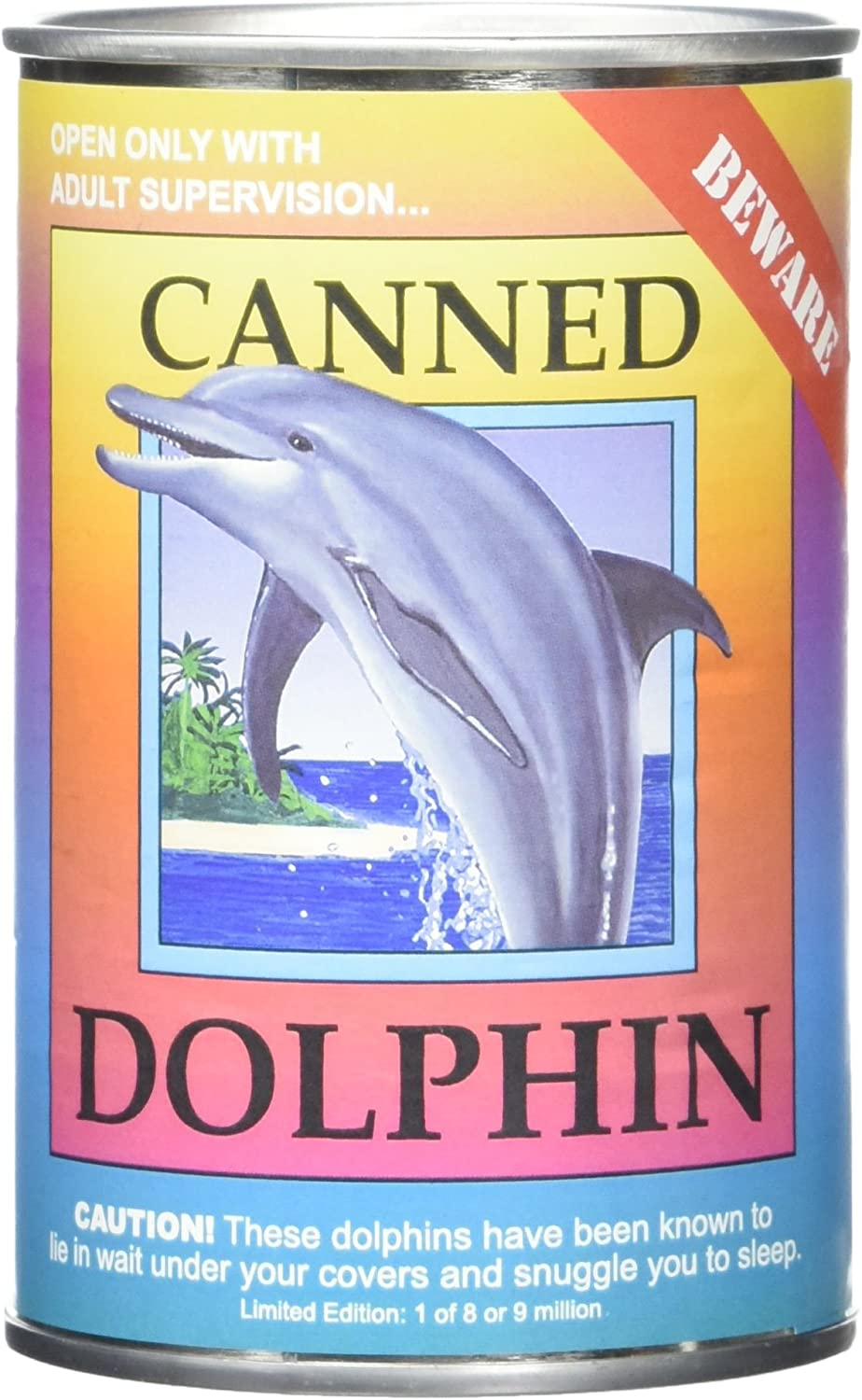 Canned Critters Stuffed Animal: Dolphin 6