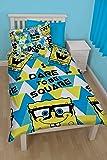 SpongeBob Squarepants Happy Reversible Single Duvet Bedding Set