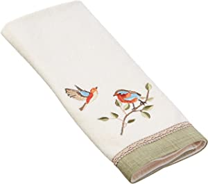 Avanti Linens Bird Choir Hand, Medium, Ivory