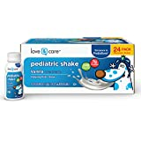 Love & Care Pediatric Nutrition Drinks, Balanced Nutrition and Flavor Kids Love, White, Vanilla, 8 Fl Oz (Pack of 24)