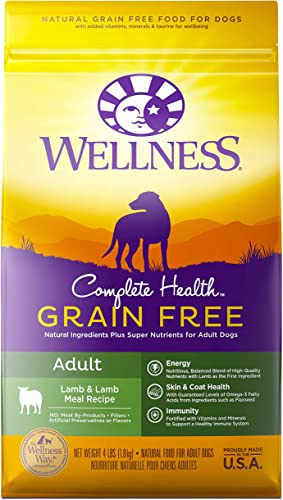Wellness Complete Health Natural Grain Free Dry Dog Food Lamb