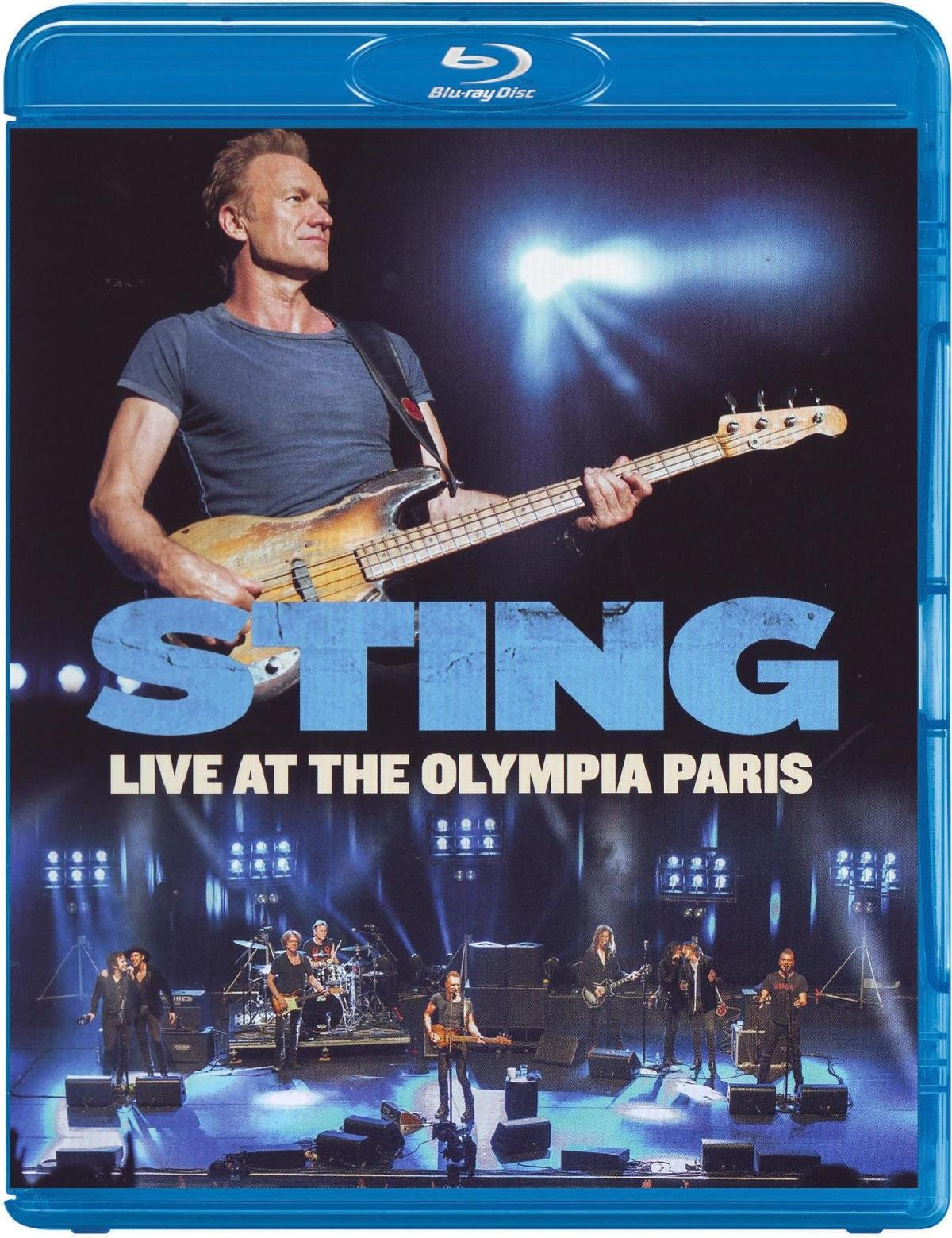 Blu-ray : Sting - Sting: Live at the Olympia Paris (Blu-ray)