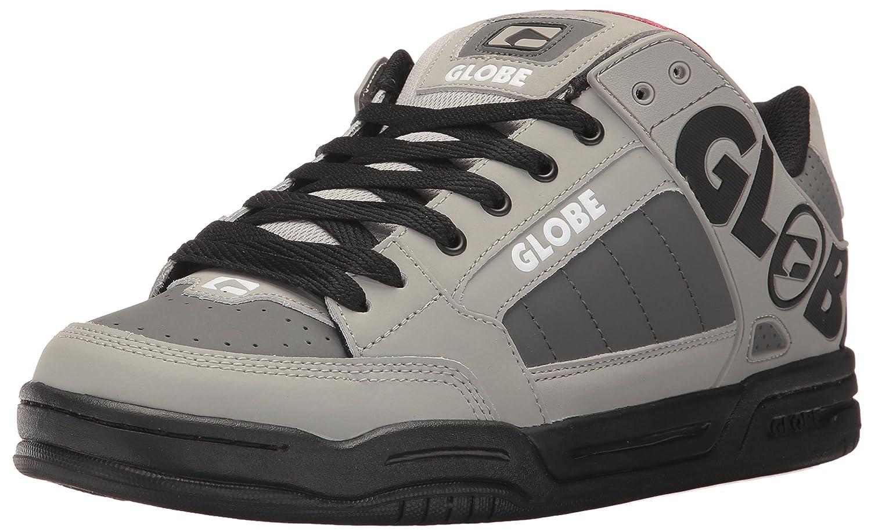 Globe Men's Tilt Skate Shoe 5 D(M) US|Grey/Black/Red