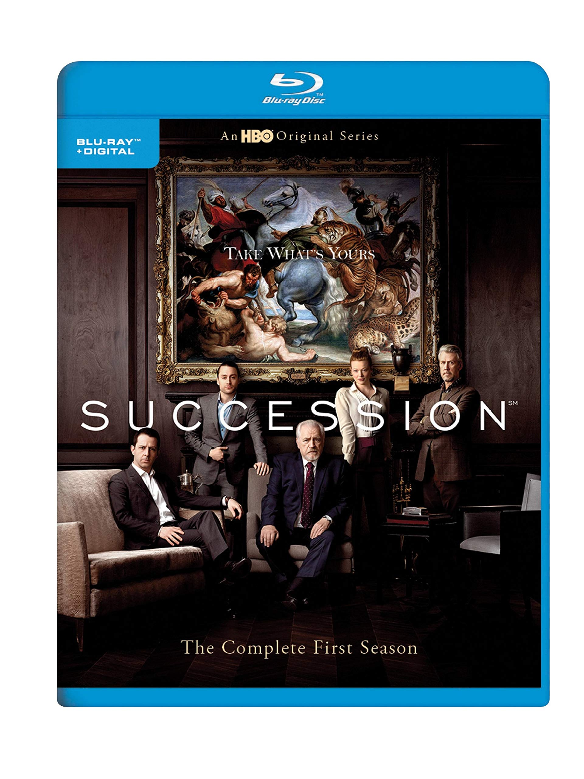 Blu-ray : Succession: The Complete First Season (Ultraviolet Digital Copy, 3 Pack, Digitally Mastered in HD)