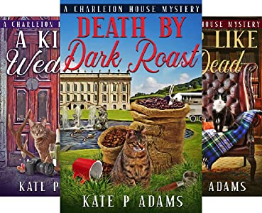 Front cover for the book The Charleton House Mysteries (5 book series) by Kate P Adams