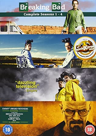 Breaking Bad Season 1-4 - Breaking Bad Season 1-4 1 DVD: Amazon.es: Cine y Series TV