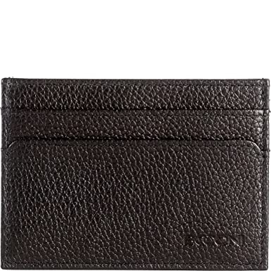 7cad1614c541 Amazon.com: Boconi Garth Weekender ID Passcase (Black with Navy ...