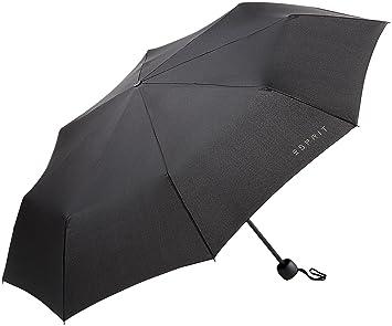 d98bdf5b1941 Esprit Mini Basic Schwarz Regenschirm Taschenschirm 50767