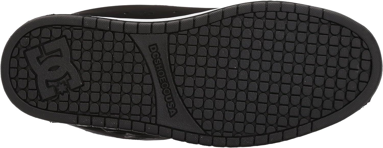 Dc Shoes Court Graffik Se Mens Shoe D0300927, Baskets Mode Homme Grey Black